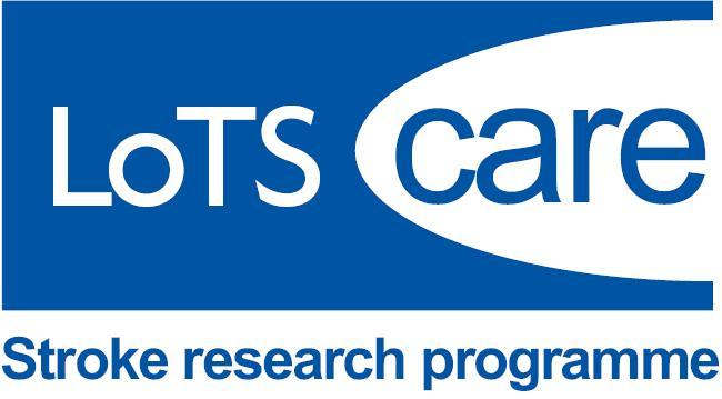 Stroke research programme logo